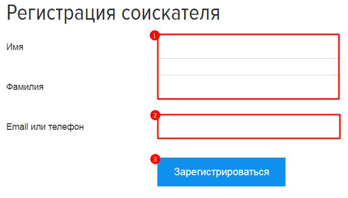 Ввод пользовательских данных